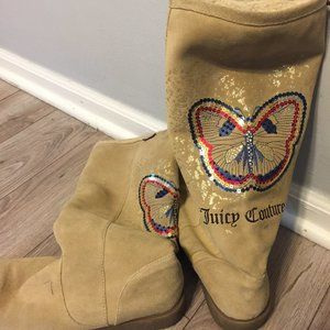 Juice Couture Suede Boots
